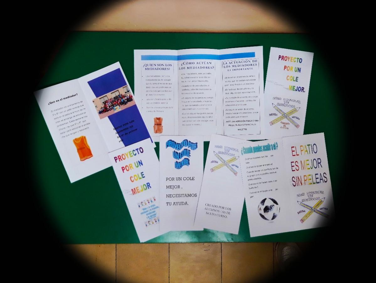 4 folletos sobre los  mediadores